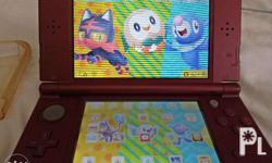 New Nintendo 3ds Xl with 4 games case protector