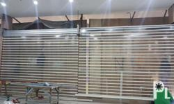 Available Roll up door Manual and Motorized