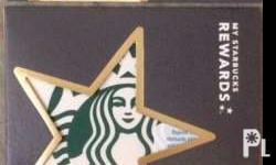 New White Siren Starbucks Card Pin Not Intact, No Load