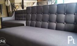 Newly Upholstered 2pcs Sofa with 1 pc single seater. -