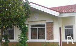 Ready For Occupancy 2-Bedroom Bungalow House with 65sqm