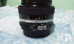 Nikon 50mm f1.4 D Lens Good for Video and photography