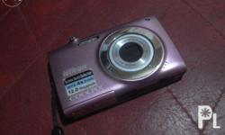 Nikon Camera Coolpix S2500 4X Wide Zoom 12.0