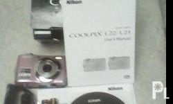Deskripsiyon FOR SALE 1 unit nikon l21 8mp 3x optical
