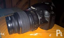 Nikon D3200 - with 18-55mm lens - good condition