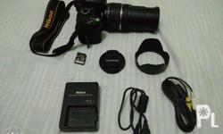 Nikon camera w/ 32gb memory card,charger,cord and bag
