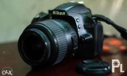 Selling my first camera Nikon D3200 w/ box and