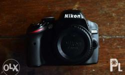Nikon D3200 Presentable po ito Black color With box and