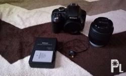 NIKON D3300 w/ kit lens wifi connect to your phone