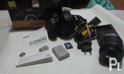 BRAND NEW NIKON D3400 DSLR CAMERA 24.2MP ,With Snap