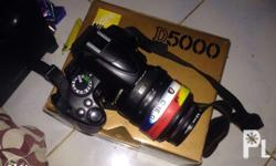 Lady-owned Nikon D5000 SET comes with: - D5000 Body -