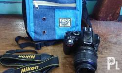 Nikon d5200 DSLR Camera with video and flipscreen