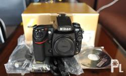 Deskripsiyon Nikon D700 Body - 35k actuation Came from
