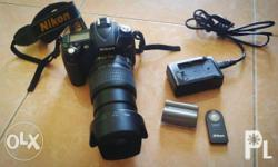 For sale Nikon D90 with kit lens RFS: rarely used In