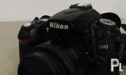 Selling my Nikon D90 in mint condition. With lens