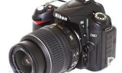 Nikon D90 Professional DSLR with Original 18-55mm VR