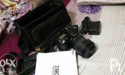 Nikon DSLR D90 Original Package With Camera bag and