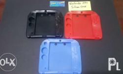 Selling Nintendo 2DS Silicon Case = 300php ea. Avail-