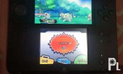 6-month old Nintendo 2DS and Pokemon Alpha Sapphire.