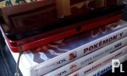 Selling this 2nd Hand Nintendo 3DS with 6 games