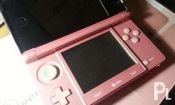Selling Nintendo 3DS Japan color: Metallic Pink