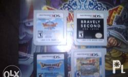 Nintendo 3DS RPG games Dragon Quest 7 900 Dragon Quest