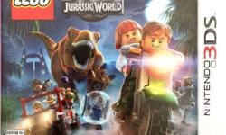 Lego Jurassic World Nintendo 3DS Game overview: