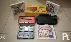3ds xl unit No issue 95% smooth Crisps button Good as