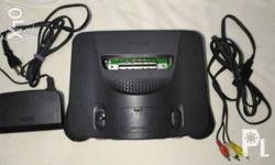 In good working condition. With power adapter and AV