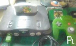 Nintendo 64 Complete with Games Condition: -Tested and