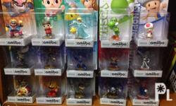 Amiibos for SALE All RARE or UNICORN Never been opened