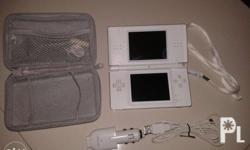 Nintendo DS : color white : with charger car/indoor :
