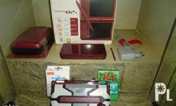 - DSI XL with screen protector - with free acekard 2i