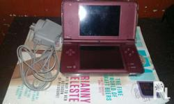 Dsi Xl w/ r4 4gb mmc full of games no issue complete w/