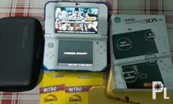 NEW Nintendo 3ds xl Modified to play downloaded 3ds