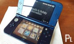 New 3ds xl blue seldom used used with soft case since
