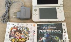 Selling New Nintendo 3DS XL (Pearl White) good as new