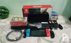 Selling my Nintendo Switch bought last March 2018 -with