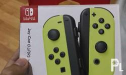 Selling my Brand New and Sealed Joy-Cons (Neon Green)
