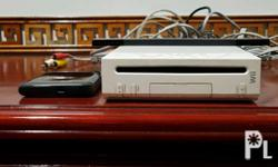 Nintendo wii modified with Hard Disk. 1 controller.
