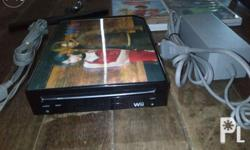 nintendo wii black moded to run copy games and usb