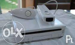 NEGOTIABLE! nintendo Wii console not yet modified with