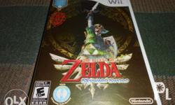 This is the wii game The Legend Of Zelda Skyward Sword.