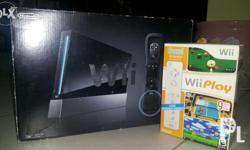 Nintendo Wii COMPLETE BOX SETUP ALL ITEMS ARE IN GOOD