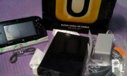 Nintendo wiiu Complete set 90% new With manual With