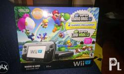 Selling my Wii U Deluxe Ed. 32GB for PHP12500 *Bought