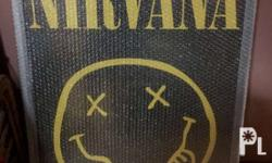 Brand new authentic nirvana poster on frame 24 x 36