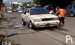Nissan Sunny 1989 model Show type condition (old
