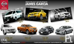 Get a new Nissan! Avail our best schemes and latest