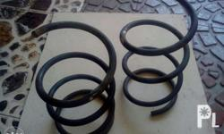 Coil spring lowered front only. For nissan sentra.